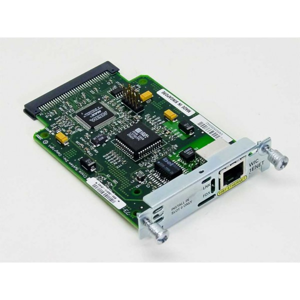 WIC-1ENET Cisco Wan Interface Cards WIC-1ENET