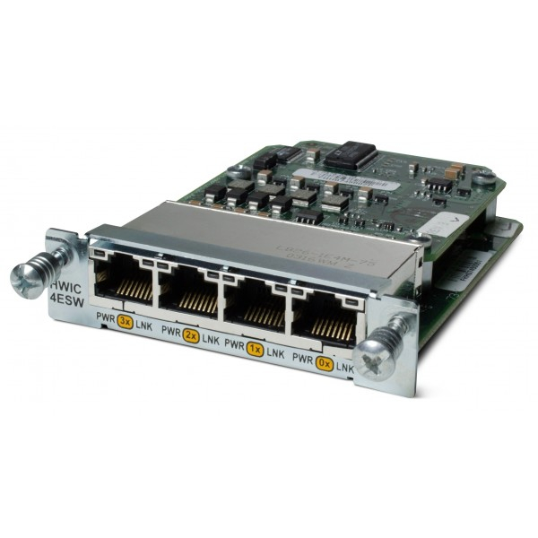 HWIC-4ESW Cisco High-Speed Wan Interface Cards HWIC-4ESW