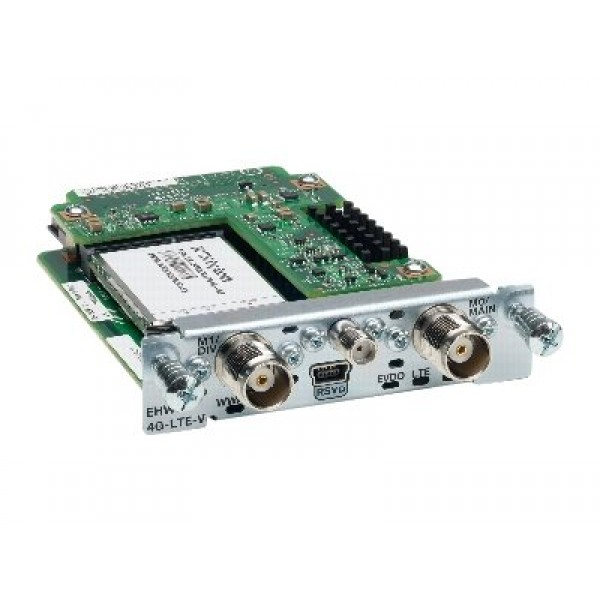 Cisco EHWIC-4G-LTE-A Cisco Enhanced High-Speed WAN Interface Cards