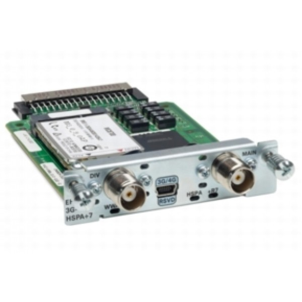 EHWIC-3G-HSPA+7 Cisco Enhanced High-Speed WAN Interface Cards EHWIC-3G-HSPA+7