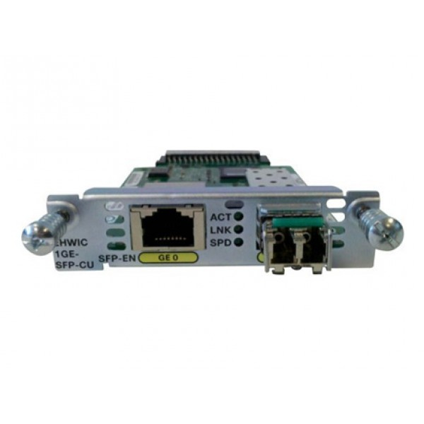 Cisco EHWIC-1GE-SFP-CU Cisco Enhanced High-Speed WAN Interface Cards