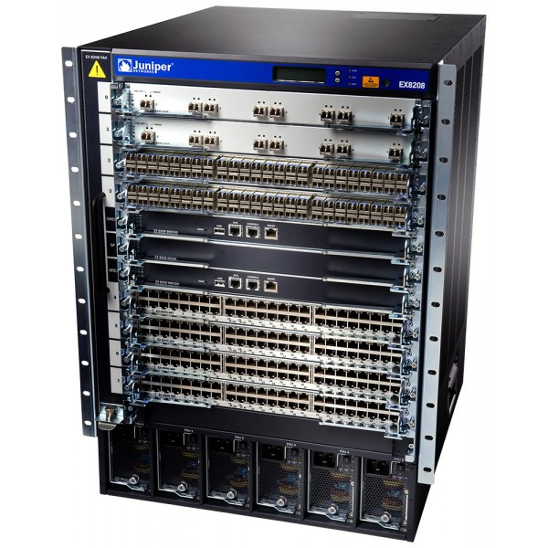 Juniper EX8208-BASE-AC-TAA Juniper EX8200 Series