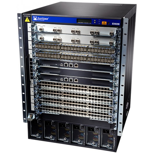 Juniper EX8208-BASE-AC3 Juniper EX8200 Series