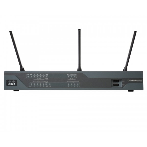 Cisco CISCO891W-AGN-N-K9 Cisco 890 Series