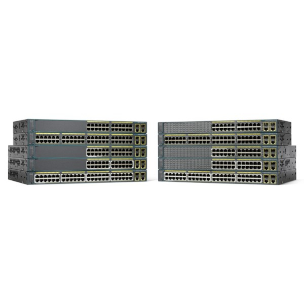 Cisco WS-C2960+48PST-L Catalyst 2960-Plus Series