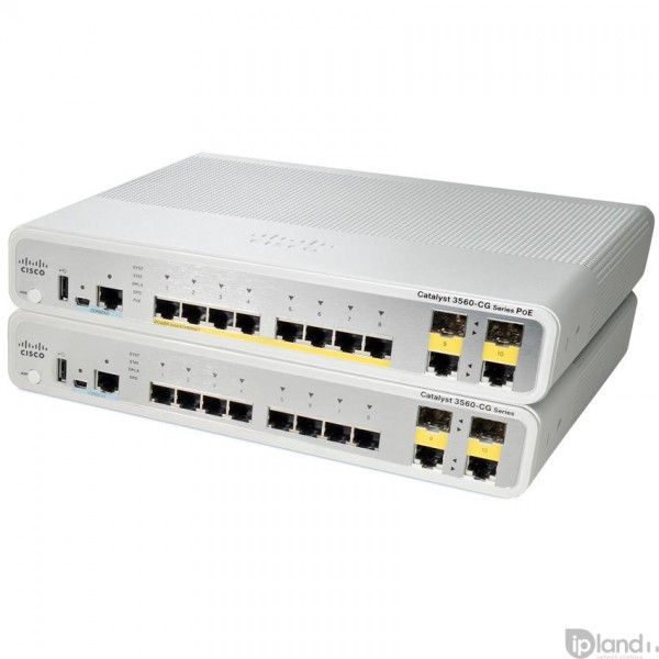 Cisco WS-C3560CG-8PC-S Catalyst 2960-C and 3560-C Series Compact Switches