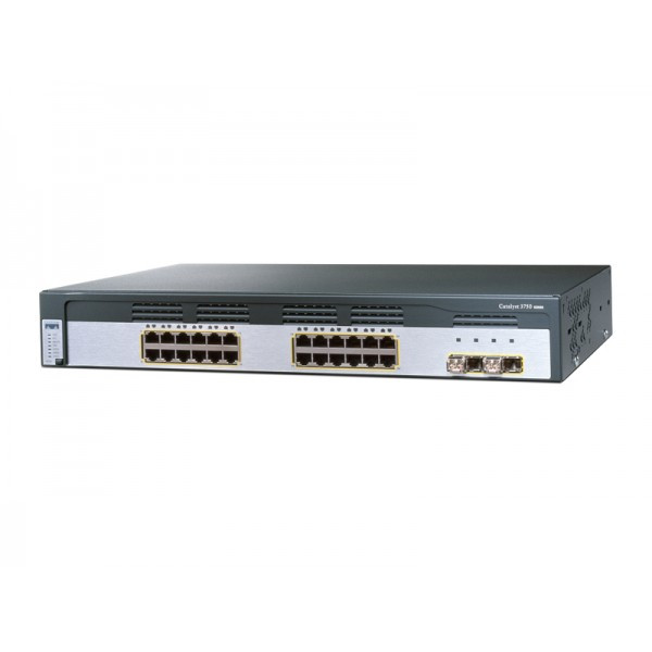 Cisco WS-C3750G-24T-S Catalyst 3750 Series