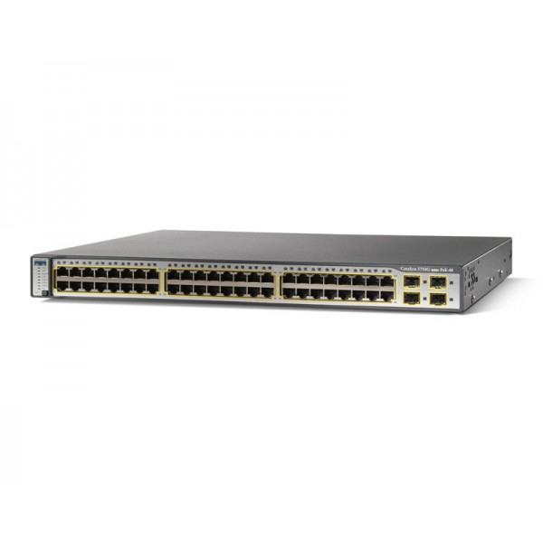 Cisco WS-C3750G-48PS-E Catalyst 3750 Series