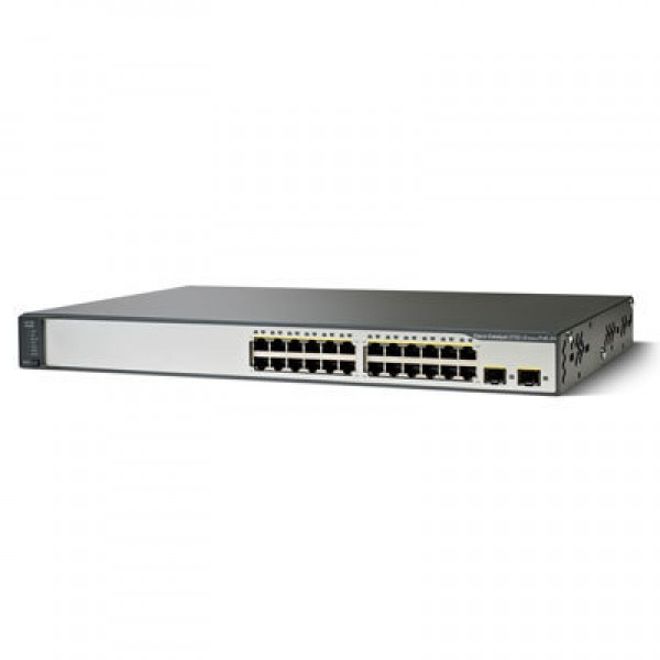 Cisco WS-C3750V2-24PS-E Catalyst 3750 Series