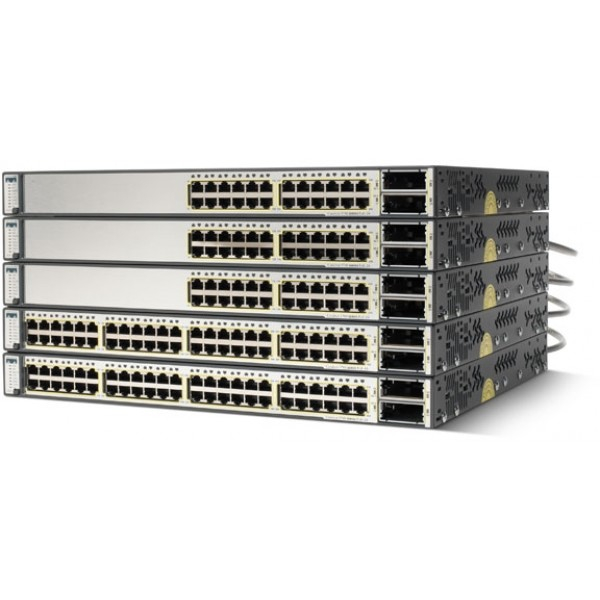 Cisco WS-C3750E-48PD-S Catalyst 3750 Series