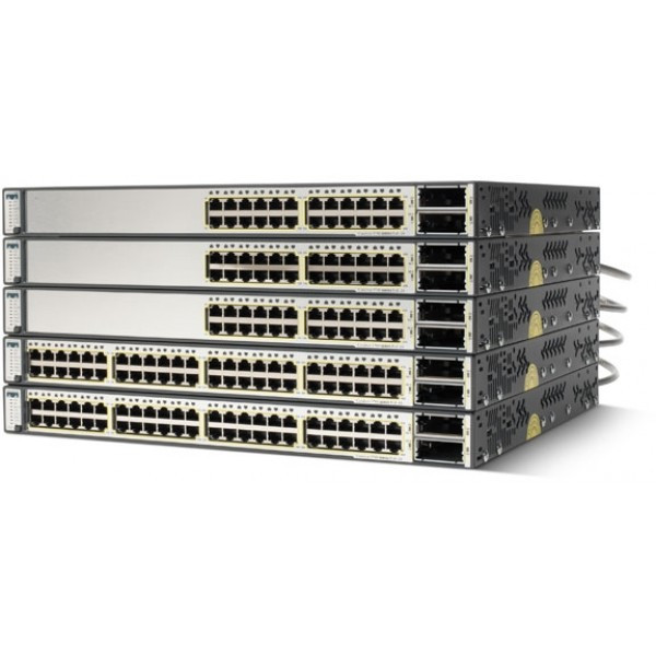 Cisco WS-C3750E-48PD-EF Catalyst 3750 Series