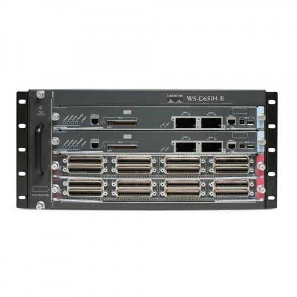 Cisco WS-C6504E-S32-10GE Catalyst 6500 Series