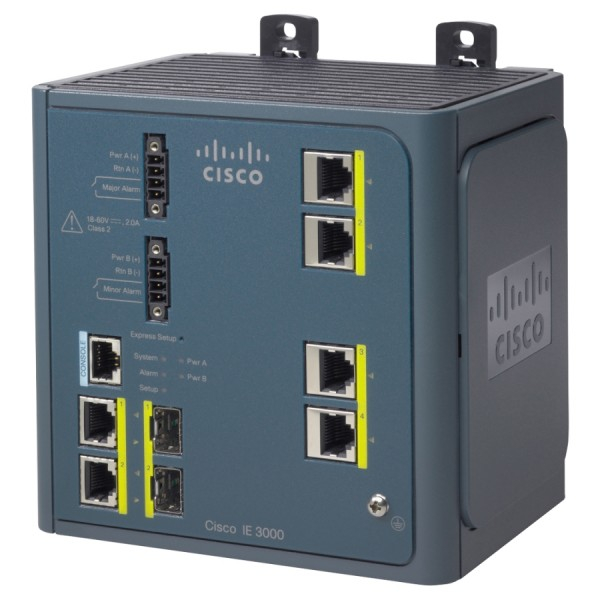 Cisco IE-3000-4TC Industrial Ethernet Switches